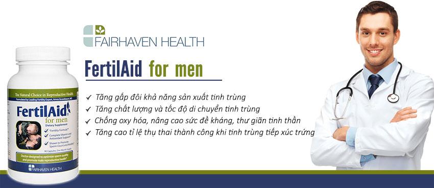 Công dụng Viên uống FertiAid For Men