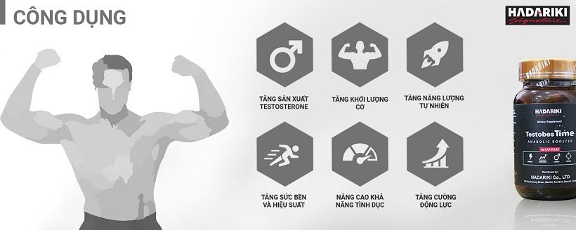 TestobesTime tăng cường sức khỏe sinh lý nam