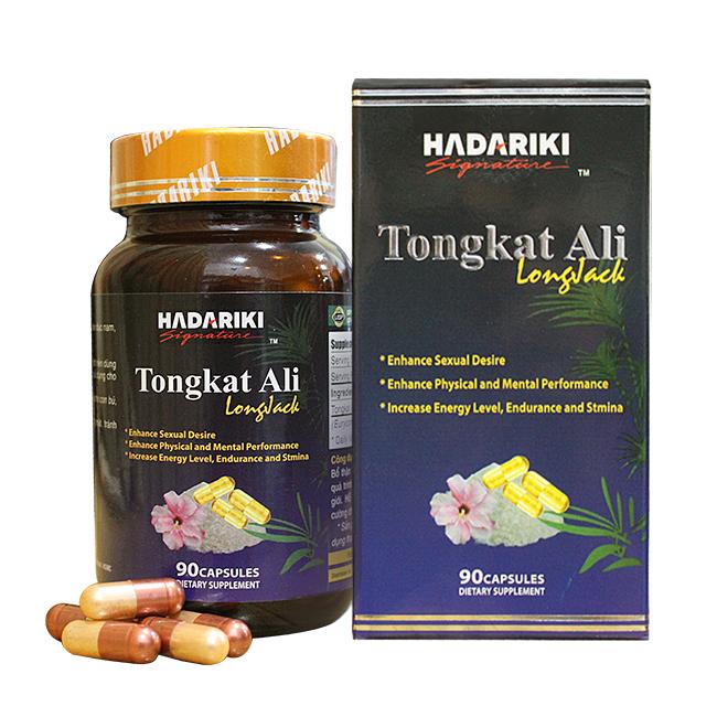Hadariki Tongkat Ali kích thích sản sinh nội tiết tố nam nội sinh