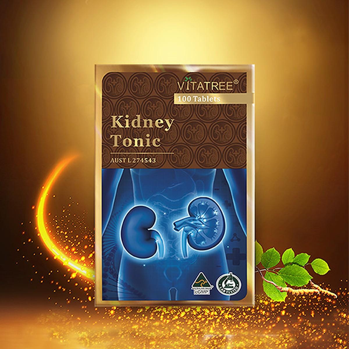 Vitatree Kidney Toniclà viên uống bổ thận của Úc