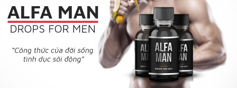 Alfa Man Drops For Mentăng cường sinh lý nam