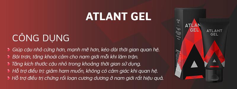 Công dụng của Atlant Gel bôi trơn của Hendel Nga