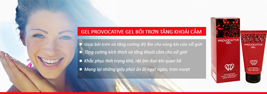 Công dụng Provocative Gel