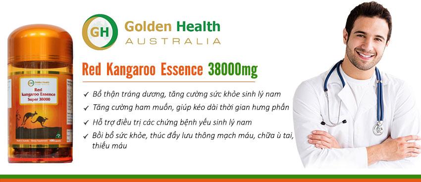 Công dụng Viên uống Red Kangaroo Essence