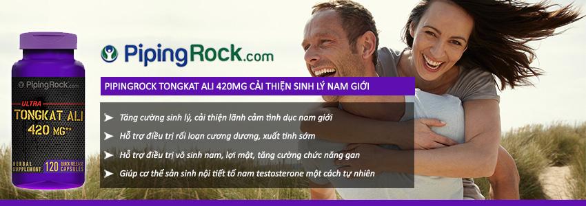 Công dụng PipingRock Tongkat Ali
