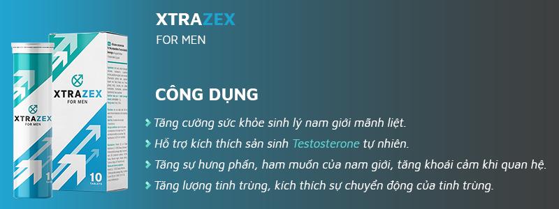 Công dụng chính của viên sủi Strazex