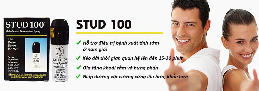 Công dụng sản phẩm Stud 100
