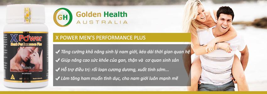 Công dụng Viên uống X Power Men Performance Plus