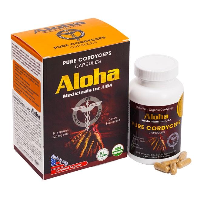 Đông trùng hạ thảo Aloha cải thiện sinh lý phái mạnh