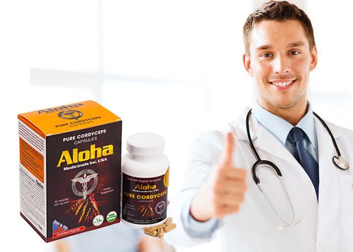 Đông trùng hạ thảo Aloha sự lựa chọn hoàn hảo cho sức khỏe