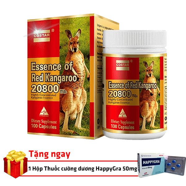 Essence of Red Kangaroo cải thiện sinh lý nam mạnh mẽ 639.000 VND