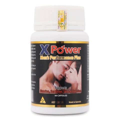 X Power Men Performance Plus chiết xuất từ thảo dược tự nhiên