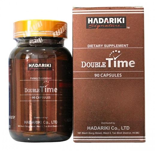 Hadariki Double Time bổ thận tráng dương kéo dài thời gian quan hệ cho nam giới
