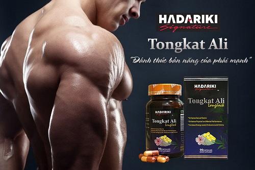 Hadariki Tongkat Ali kích thích sản sinh Testosterone nội sinh