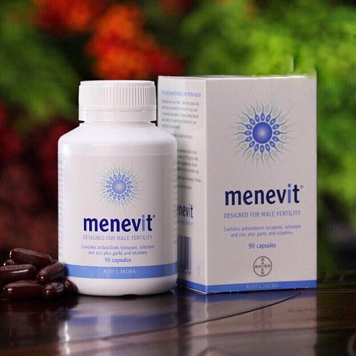 Menevit nâng cao chất lượng và số lượng tinh trùng