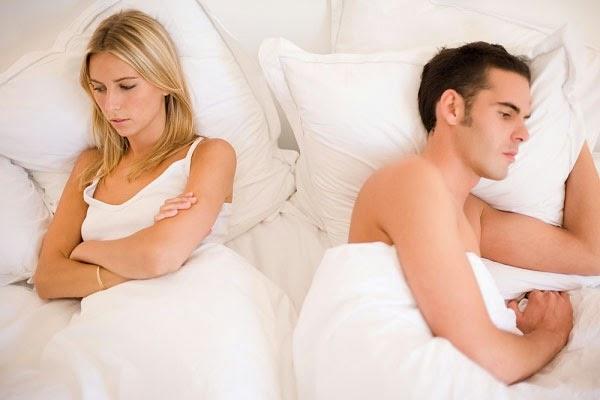 Nam giới yếu sinh lý dẫn đến tình yêu không được trọn vẹn