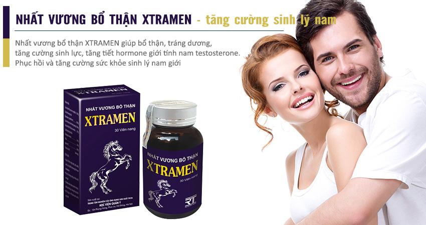 XTRAMEN lựa chọn hoàn hảo cho nam giới