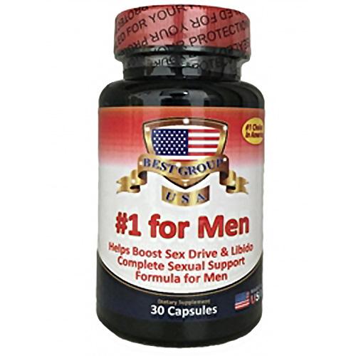 No 1 For Men chiết xuất từ các thảo dược quý hiếm