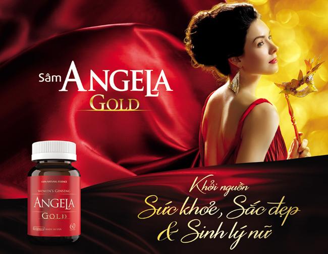 Sâm Angela Gold sức khỏe sắc đẹp và sinh lý nữ