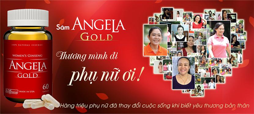 Sâm Angela Gold bí quyết mang lại hạnh phúc cho các Eva