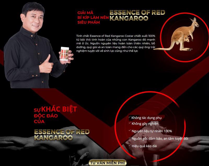 Thành phần Essence of Red Kangaroo