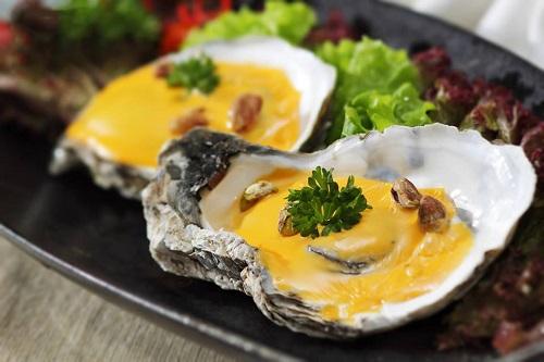 Các món ăn từ hàu giúp tăng cường hệ miễn dịch