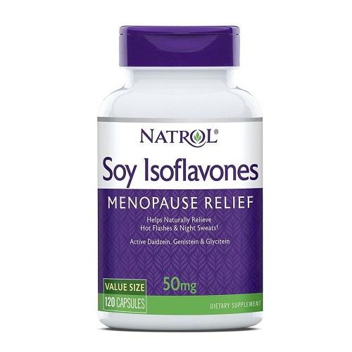 Natrol Soy Isoflavone bổ sung công thức cân bằng estrogen