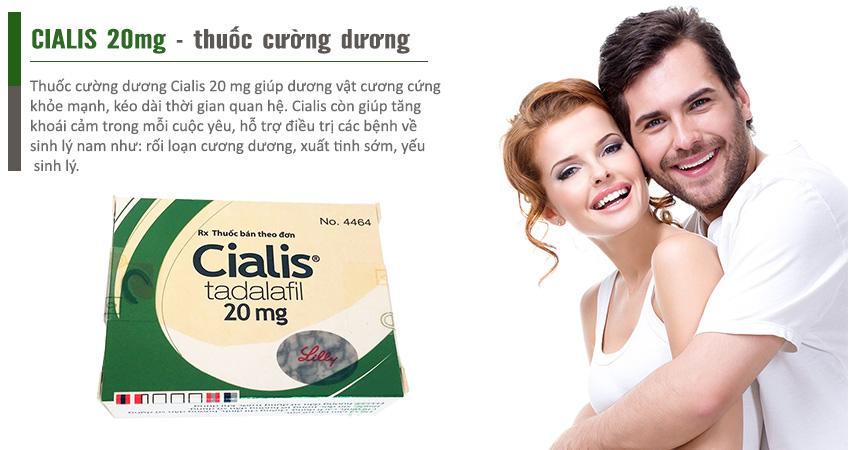 Cialis 20mg sự lựa chọn hoàn hảo cho nam giới