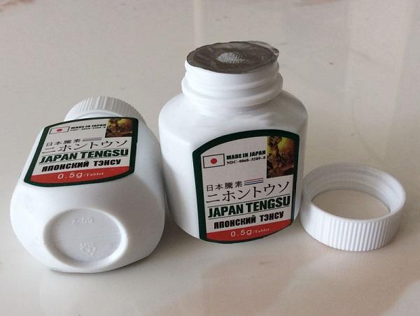 Japan Tengsu được chiết xuất từ các thành phần thảo dược tự nhiên