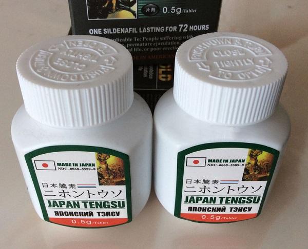 Thuốc cường dương Japan Tengsu Nhật Bản giúp tăng cường sinh lý mạnh mẽ
