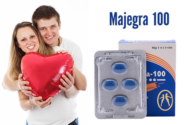 Majegra 100 hỗ trợ điều trị các bệnh yếu sinh lý ở nam giới