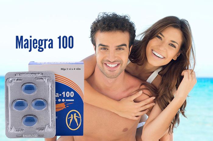 Majegra 100 giúp nam giới lấy lại phong độ đích thực