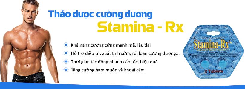 Công dụng thảo dượccường dương Stamina RX