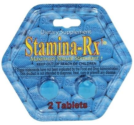 Stamina RX với thành phần từ các loại thảo dược tự nhiên