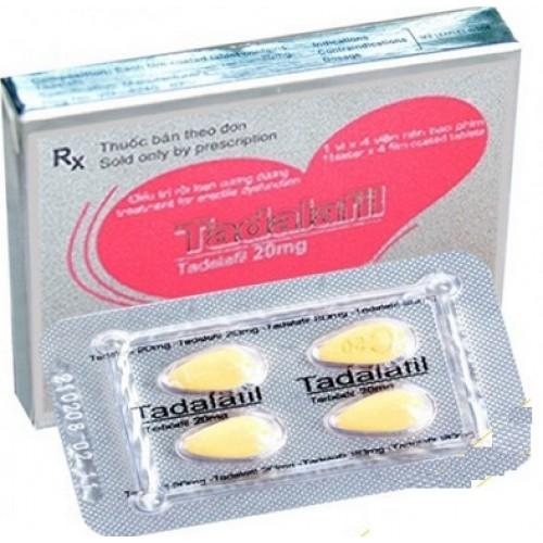 Đọc kĩ hướng dẫn sử dụng trước khi dùng Tadalafil