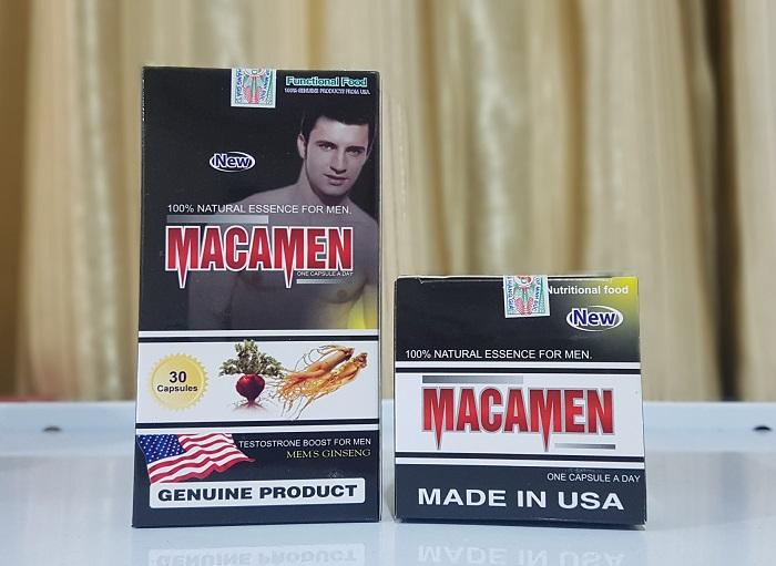 Sử dụng MacaMen mỗi ngày để cải thiện sức khỏe sinh lý nam