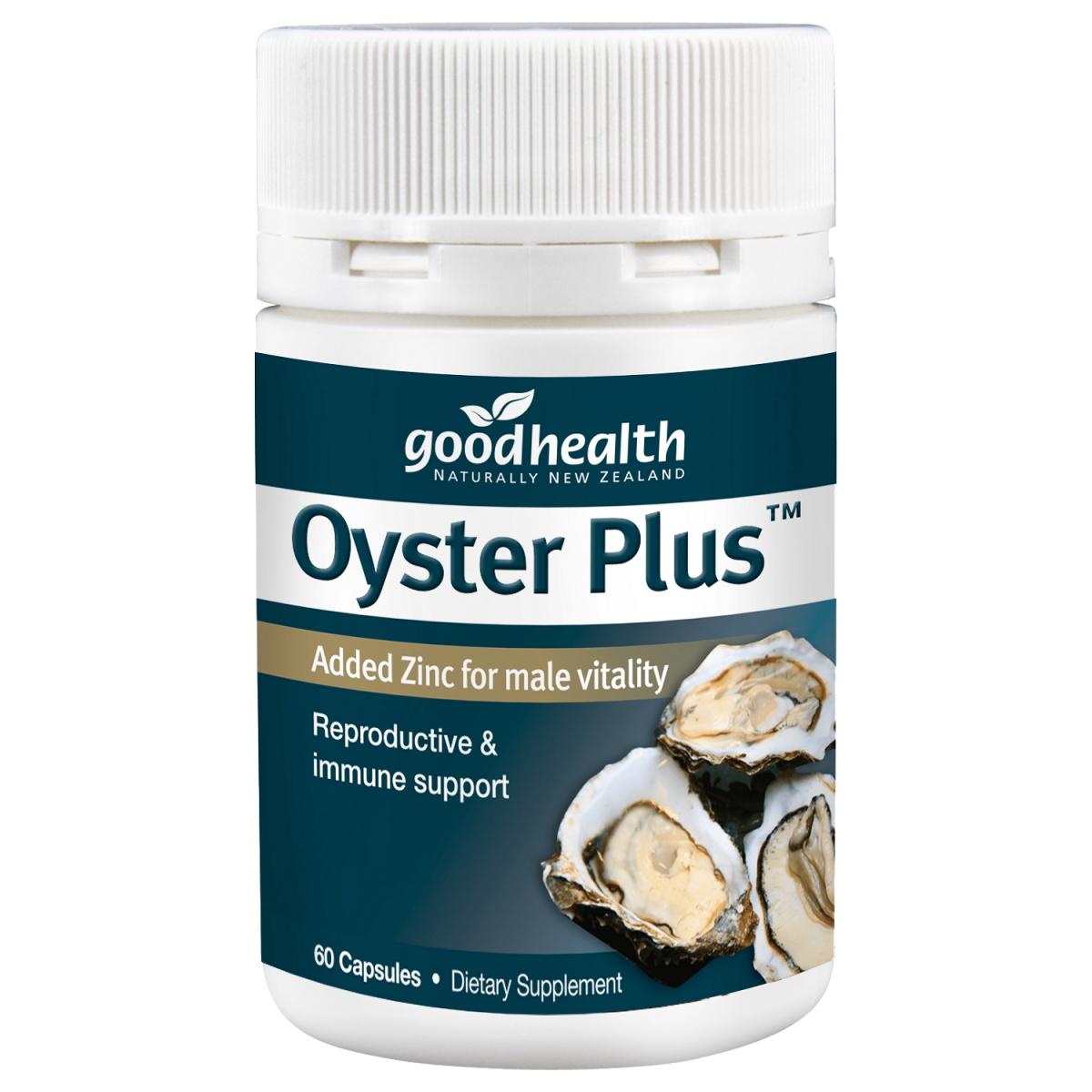 Thành phần chính của Oyster Plus là tinh chất hàu tươi