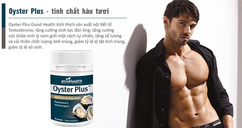 Tinh chất hàu tươi Oyster Plus tăng cường sức khỏe sinh lý nam