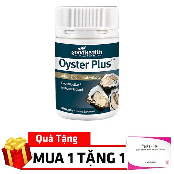 Tinh chất hàu Oyster Plus Goodhealth New Zealand