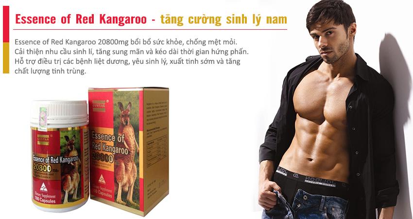 Essence of Red Kangaroo tăng cường sinh lý phái mạnh