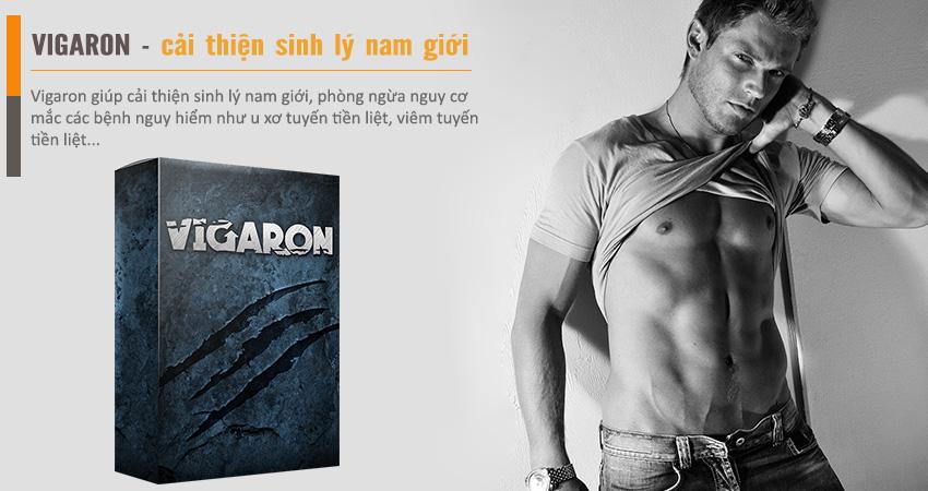 Vigaron giúp tăng cường sinh lý nam