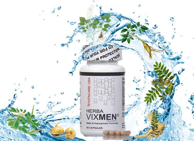 Vixmen với 100% thành phần từ các loại thảo dược