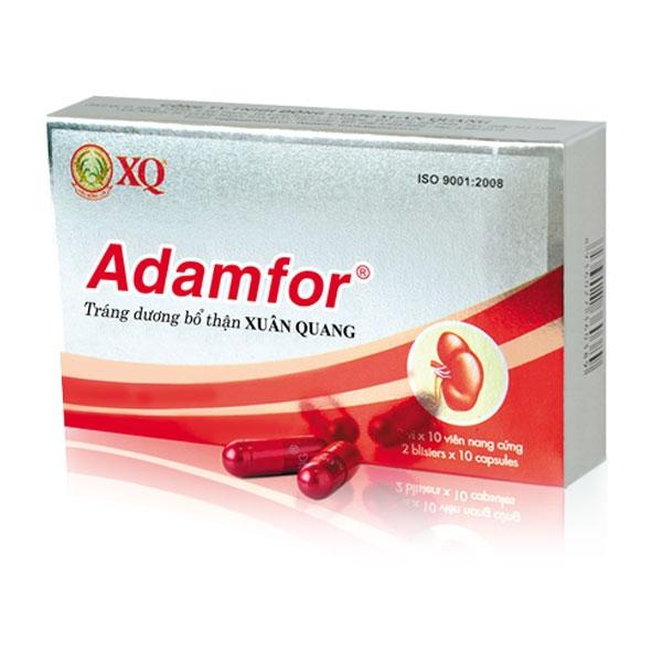 Adamfor bổ thận tráng dương tăng cường sinh lý nam mạnh mẽ