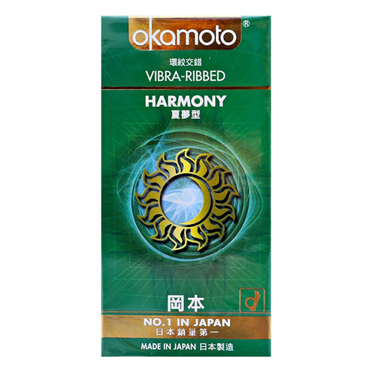 Bao Cao Su Okamoto Harmony Có Gai Sọc, Hộp 10 Cái