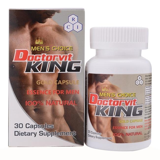Doctorvit King tăng cường sinh lý nam