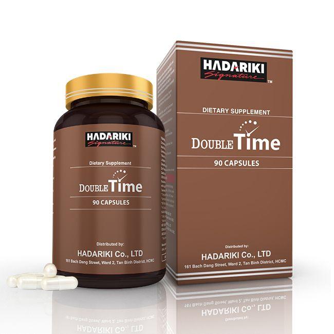 Hadariki Double Time tăng cường sinh lý nam mạnh mẽ ( date 12/2021)