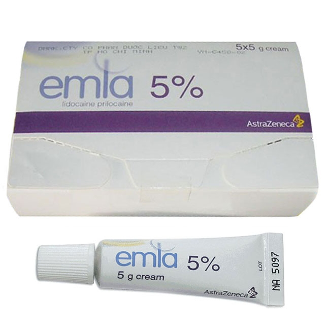 Emla Cream 5% kem bôi kéo dài thời gian yêu