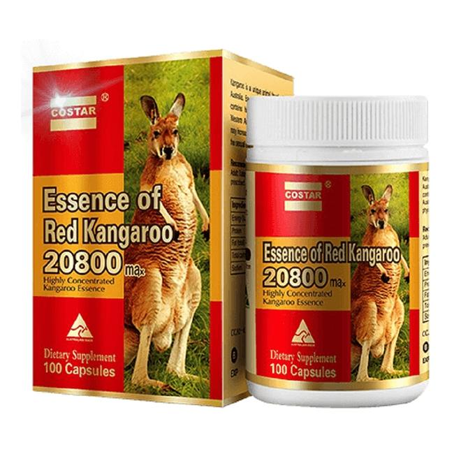 Essence of Red Kangaroo 20800 Max bổ thận tráng dương