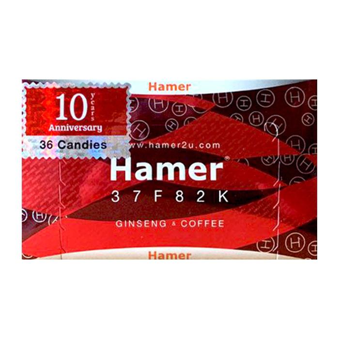 Kẹo sâm Hamer Ginseng & Coffee giúp tăng cường sức khỏe sinh lý 36 Viên