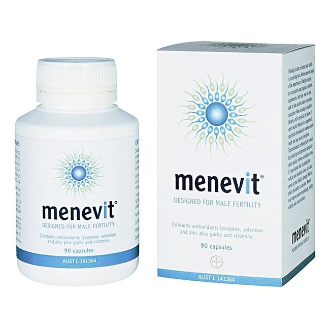 Menevit hỗ trợ và nâng cao chất lượng tinh trùng cho nam giới